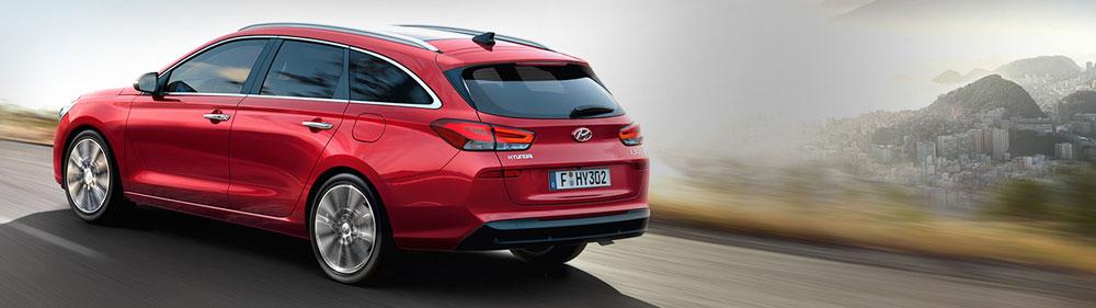 Hyundai i30 wagon universalas fakto auto salone