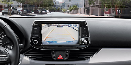 Hyundai i30 wagon universalas  galinė kamera