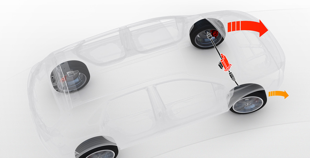 Hyundai i30 Fastback N diferencialas