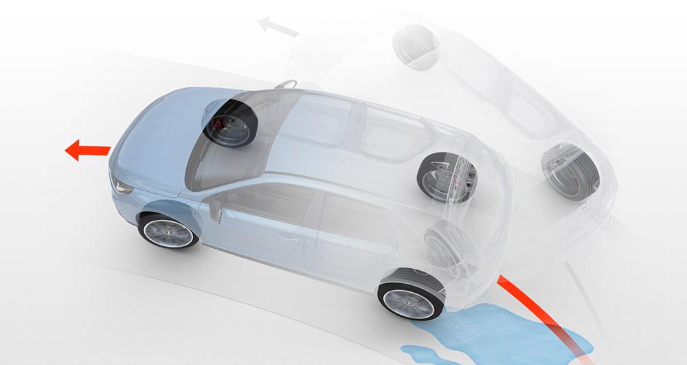 Hyundai i30 Fastback N sukibimo kontrolės sistema