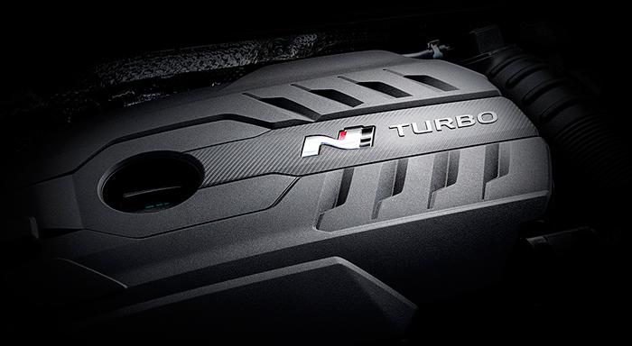 Hyundai i30 Fastback N variklis