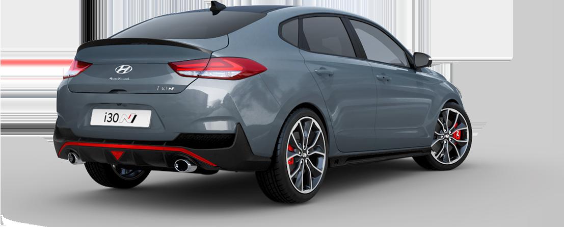 Hyundai i30 Fastback N dizainas