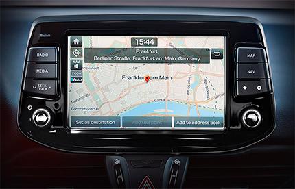 Hyundai i30 Fastback N navigacija