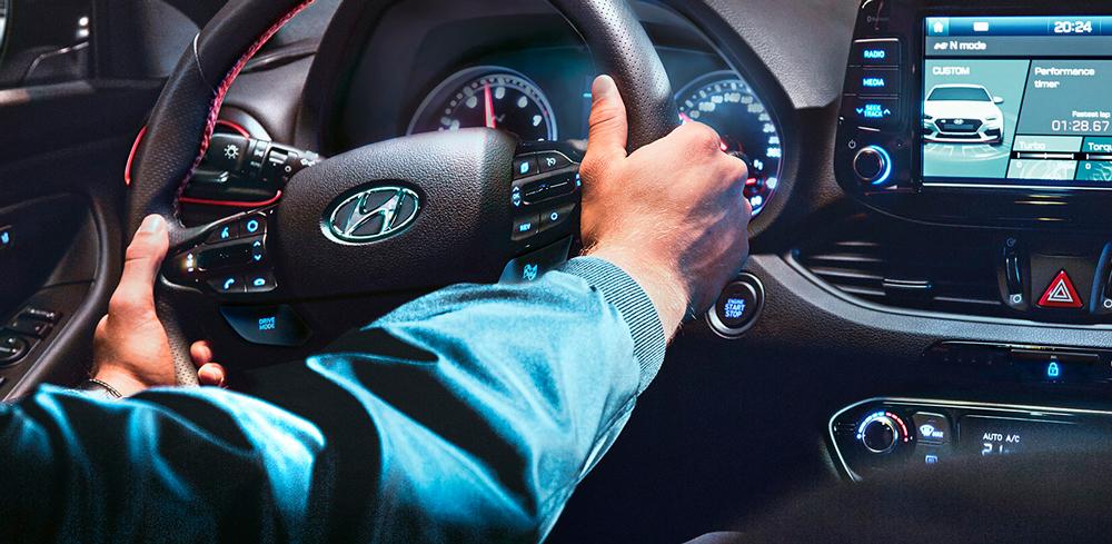 Hyundai i30 Fastback N komfortas