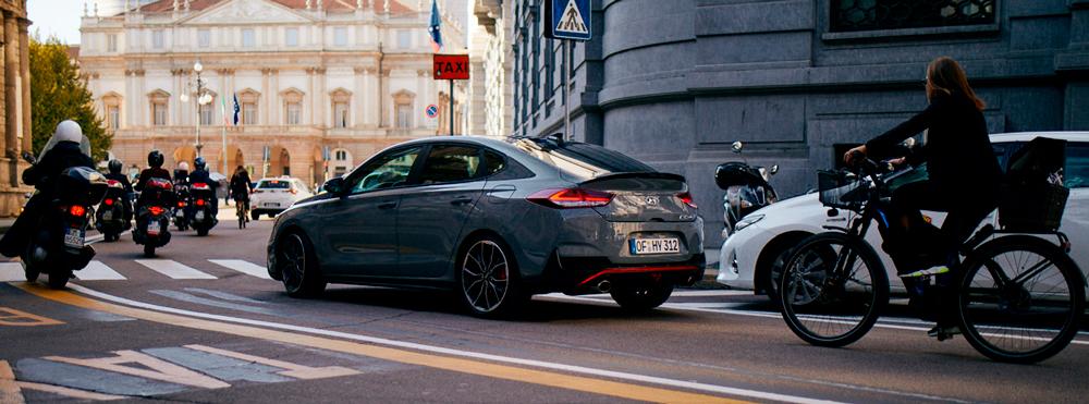 Hyundai i30 Fastback N saugumas