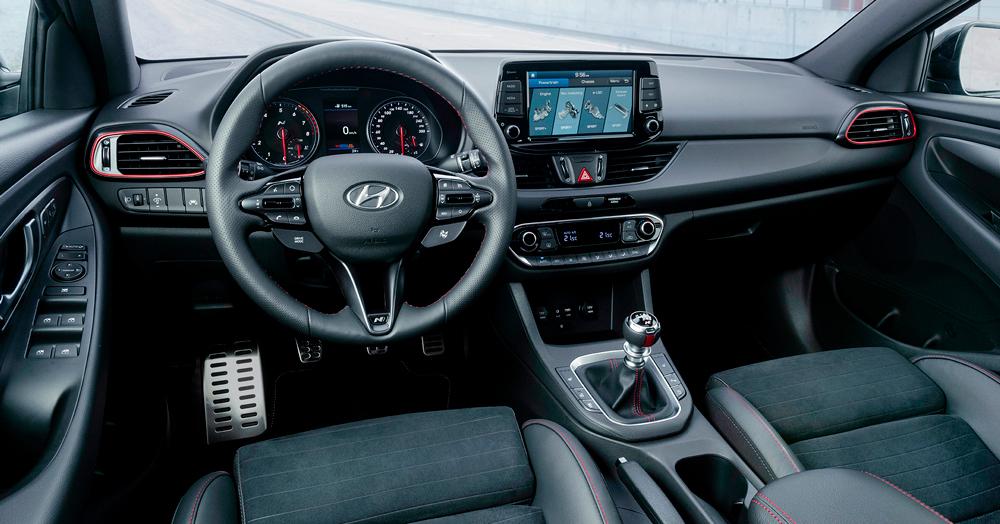 Hyundai i30 Fastback N salonas