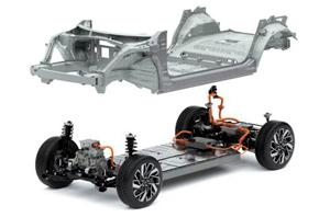 Naujasis Hyundai IONIQ 5 e-gmp platforma
