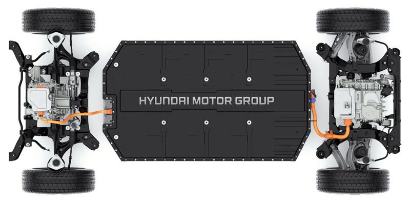 Naujasis Hyundai IONIQ 5 elektrinis našumas