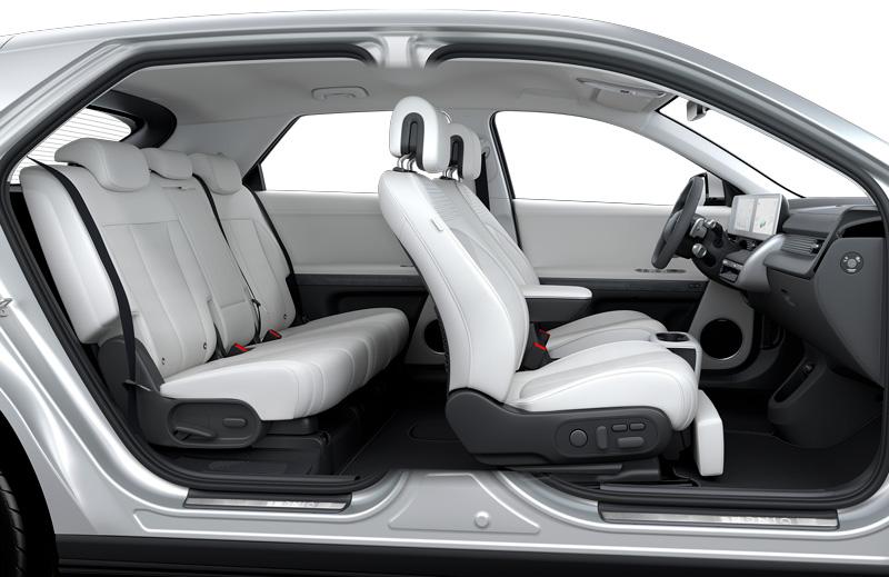 Naujasis Hyundai IONIQ 5 lankstus sėdynių išdėstymas