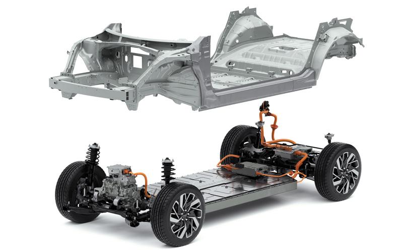 Naujasis Hyundai IONIQ 5 modulinė platforma