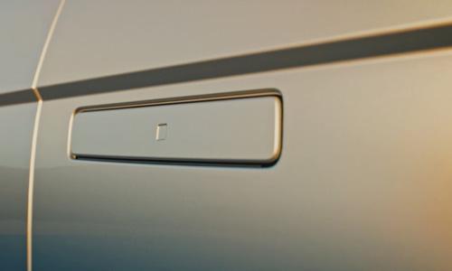 Naujasis Hyundai IONIQ 5 įleistos durų rankenos