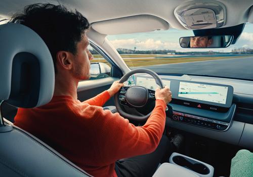 Hyundai IONIQ 5 išmanus pastovaus greičio palaikymas navigacinis