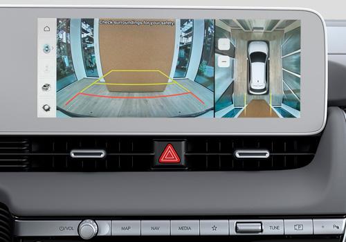 Hyundai IONIQ 5 aplinkinio vaizdo stebėjimas
