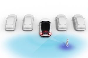 Hyundai IONIQ 5 atbulinio susidurimo išvengimas