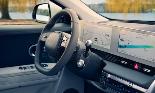 Hyundai IONIQ 5 skaitmeninis prietaisų skydelis