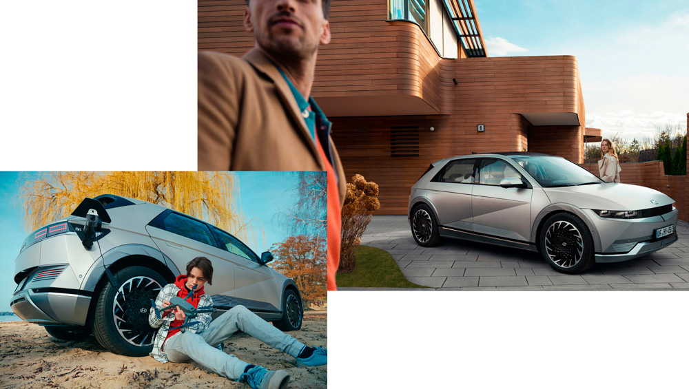 Naujasis Hyundai IONIQ 5 vehicle to load technologija