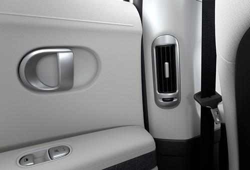 Naujasis Hyundai IONIQ 5 galinės ventiliacijos angos