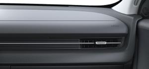 Naujasis Hyundai IONIQ 5 salono apdaila juoda