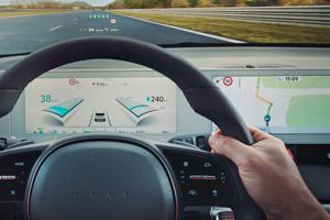Naujasis Hyundai IONIQ 5 integruoti ekranai