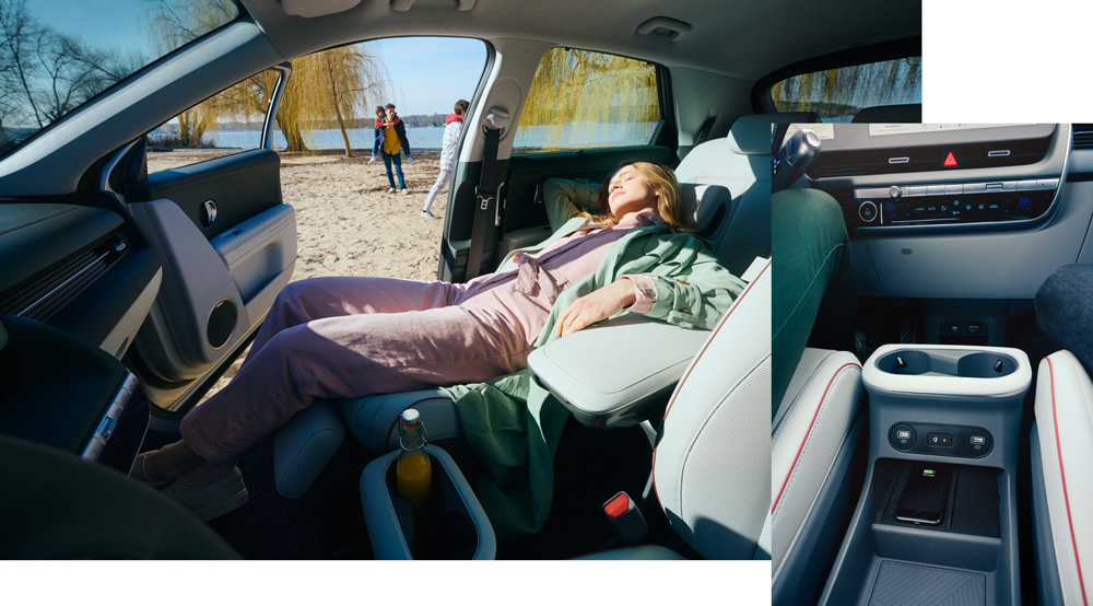 Hyundai IONIQ 5 stumdomas centrinis skydelis
