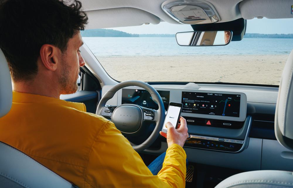 Naujasis Hyundai IONIQ 5 vidus
