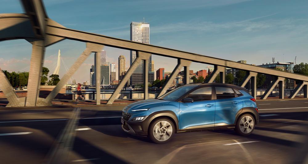 Naujasis Hyundai KONA MY21 dinamika fakto autocentras