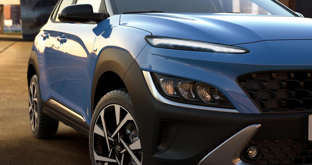 Naujasis Hyundai KONA MY21 energijos srautas fakto autocentras