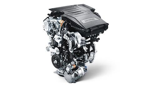 Naujasis Hyundai KONA MY21 benzininis variklis