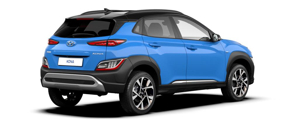 Naujasis Hyundai KONA my21 stilingi ratlankiai ir žibintai
