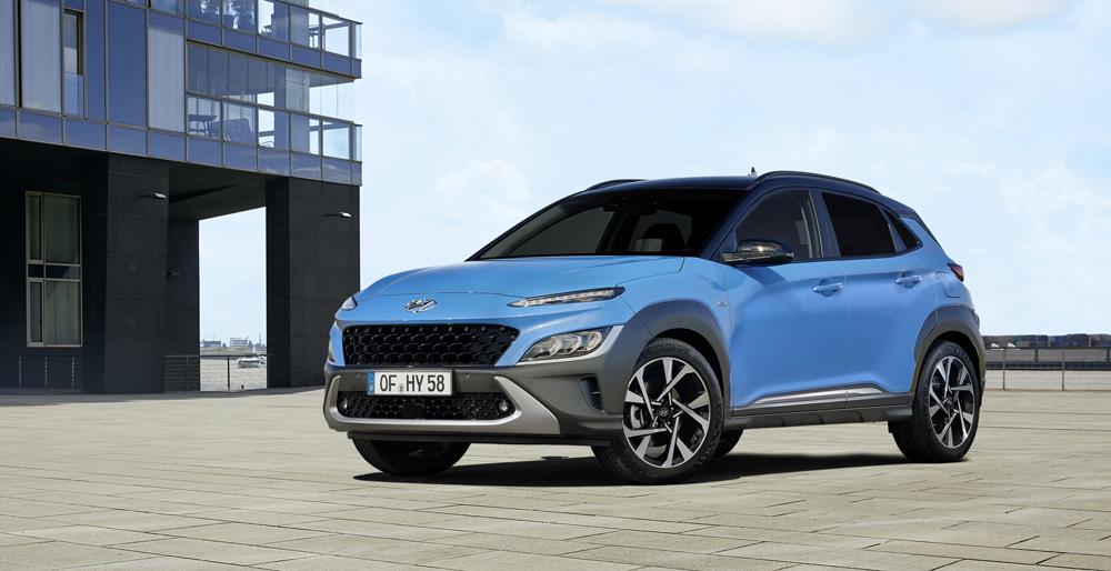 Naujasis Hyundai KONA my21 išorė fakto autocentras
