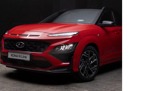 Hyundai KONA N LINE MY21 buferio konstrukcija