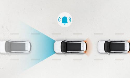 Naujasis Hyundai KONA MY21 įspėjimas apie pajudėjimą