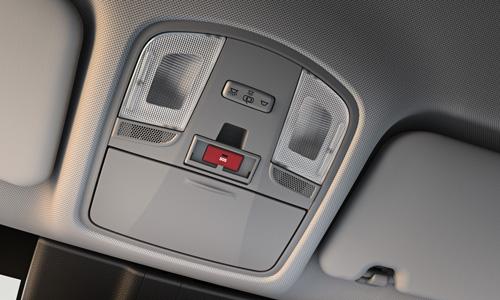 Naujasis Hyundai KONA MY21 eCall saugumas ir sauga