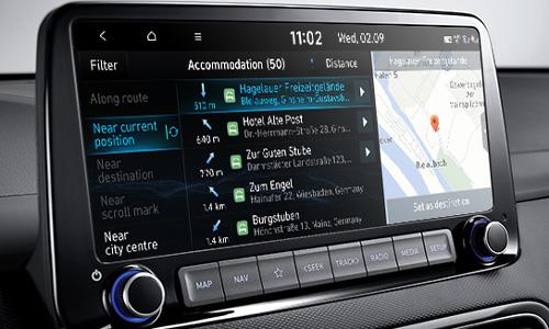 Naujasis Hyundai KONA MY21 naujasis jutiklinis ekranas