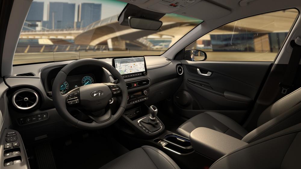 Naujasis Hyundai KONA MY21 Vidus