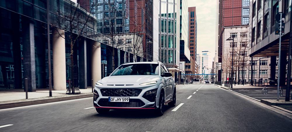 Naujasis Hyundai KONA N MY21 Dinamika