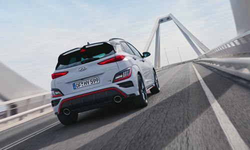 Naujasis Hyundai KONA N MY21 Eismo juostos išlaikymo