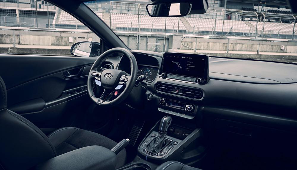 Naujasis Hyundai KONA N my21 Vidus
