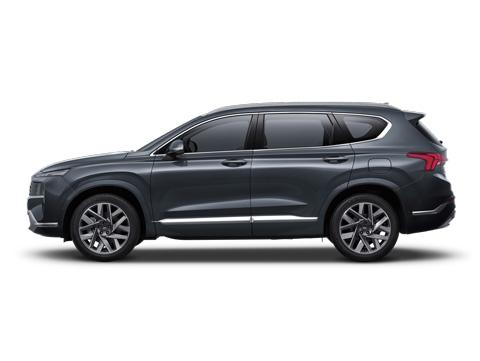 Naujasis Hyundai Santa Fe MY21 dinamika visiškai nauja platforma