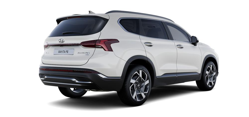 Naujasis Hyundai Santa Fe my21 išskirtiniai žibintai