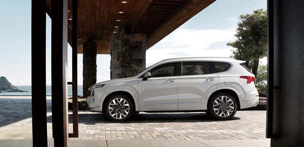 Naujasis Hyundai Santa Fe my21 Suasmenininkite pagal skonį