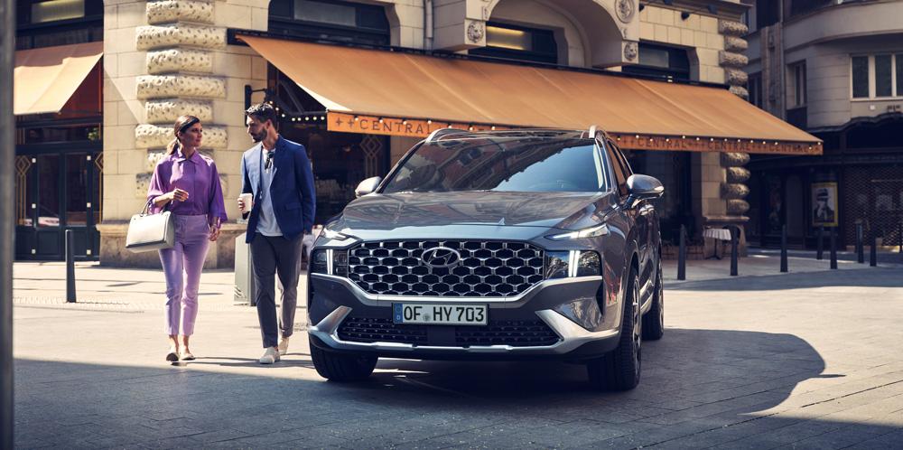 Naujasis Hyundai Tucson Santa Fe MY21 susiejimas