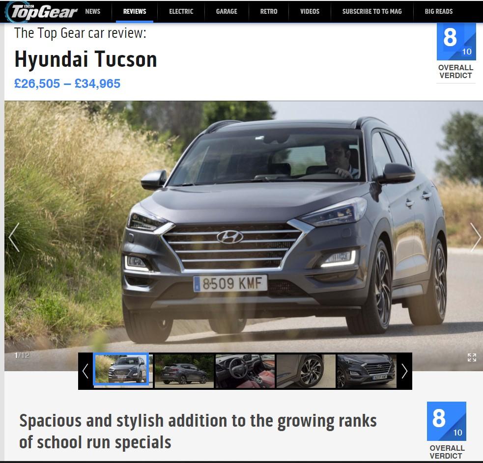 Hyundai Tucson apzvalga top gear fakto auto