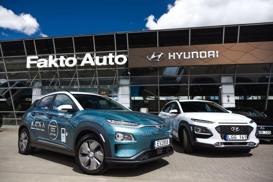 Hyundai elektrombiliai ir hibridai vilniuje