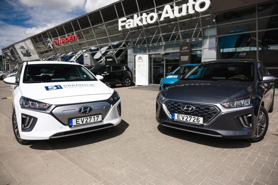 Hyundai ioniq elektromobilis