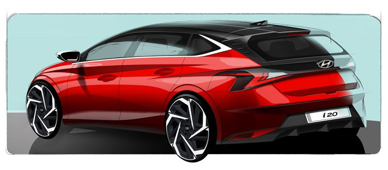 Naujasis Hyundai i20 dizainas