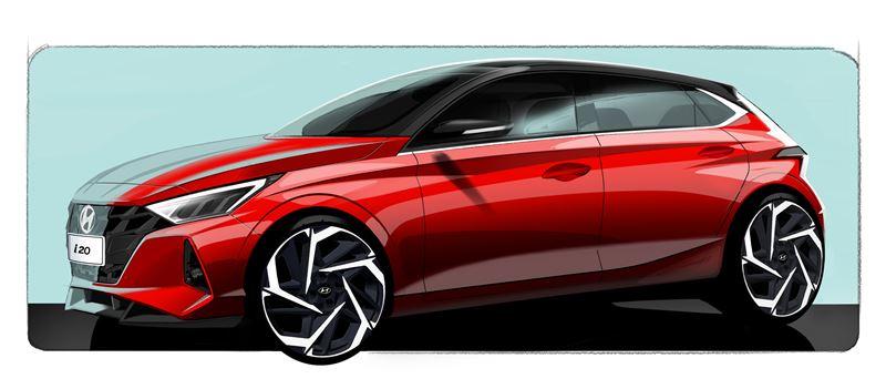 Hyundai pristato nauja i20 dizainą