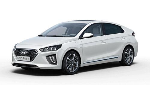 Hyundai Ioniq plug-in fakto autocentras